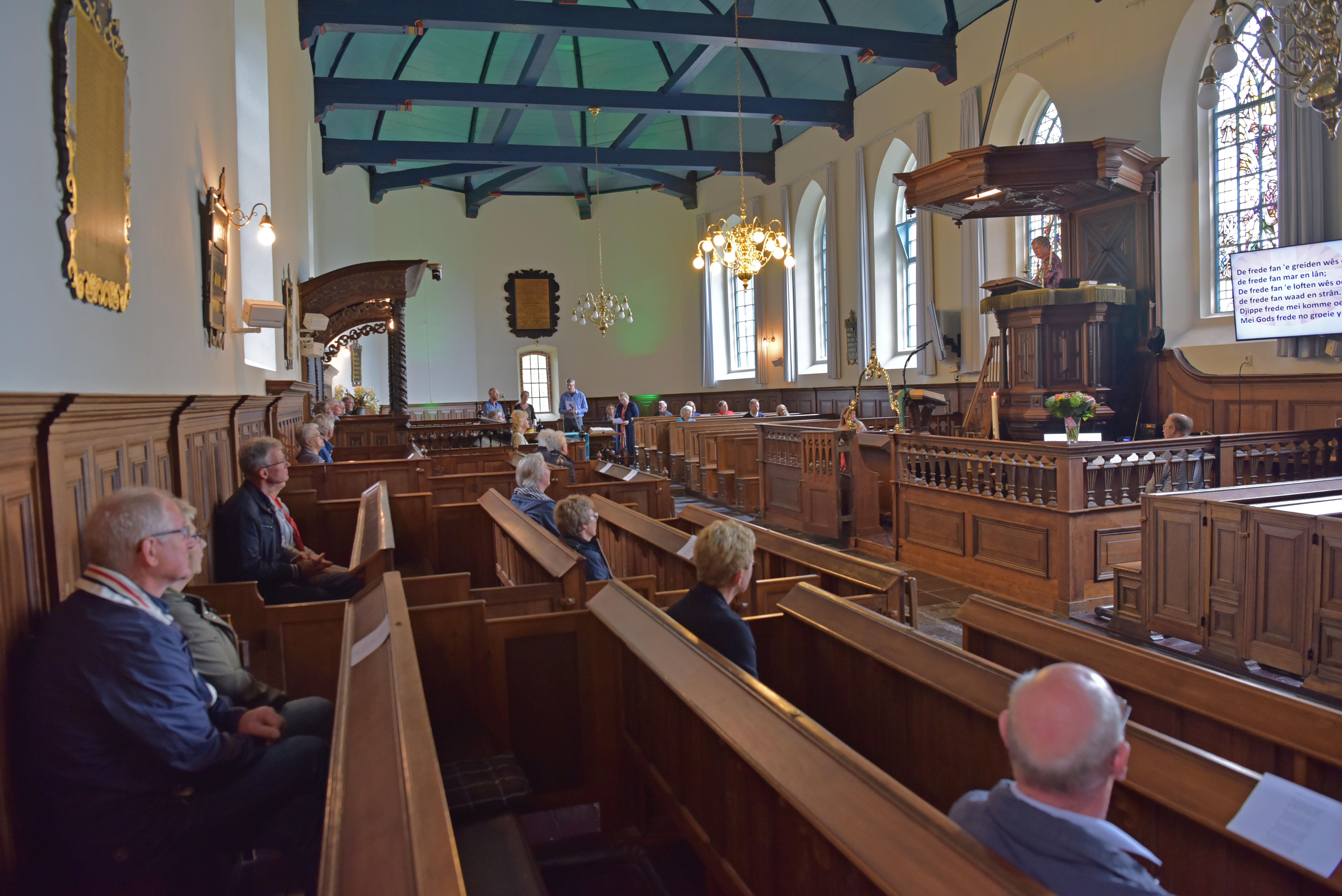 Eerste kerkdienst in corona, afbeelding 1